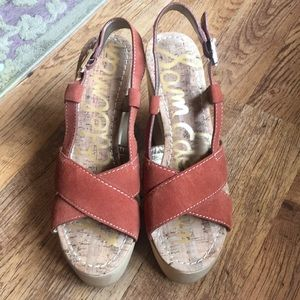 Sam Edelman platform Sandals, 70s Summer Fun!